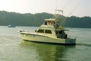 Costa Rica Fishing boat in Los Suenos